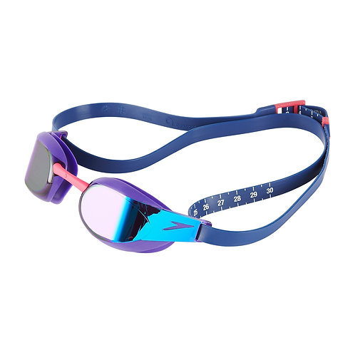 Speedo Fastskin Elite Mirror Goggle Blue Violet