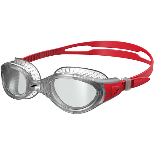 Speedo Futura Biofuse Flexiseal - Red/Clear
