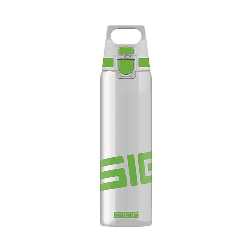 SIGG Total Clear 0.75L Water Bottle Green