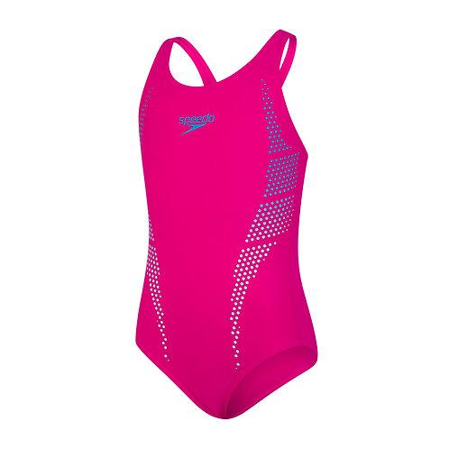 Speedo Hexagonal Muscleback Swimsuit