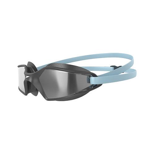 Speedo Hydropulse Mirror Goggle Blue Silver