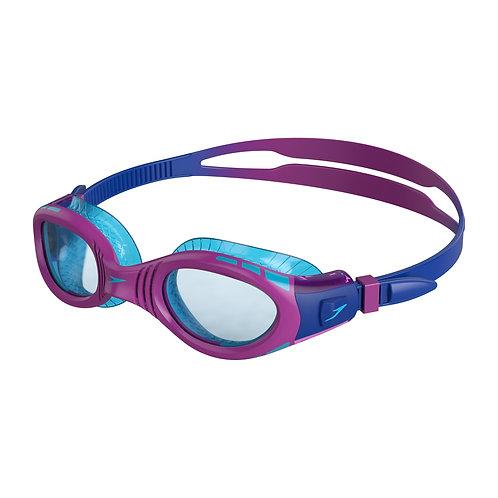 Speedo Futura Biofuse Flexiseal Junior Blue Purple