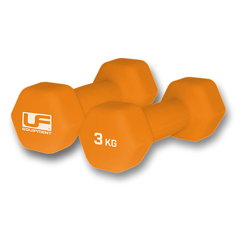 3 KG Hex Dumbells Hand Weights