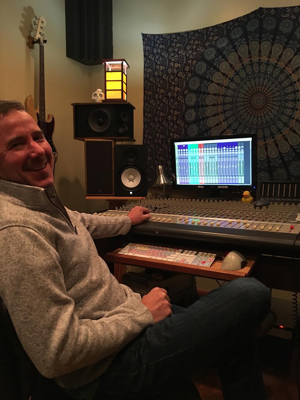 Adam Beck at Captured Sound