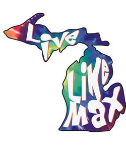 LiveLikeMax Michigan Sticker