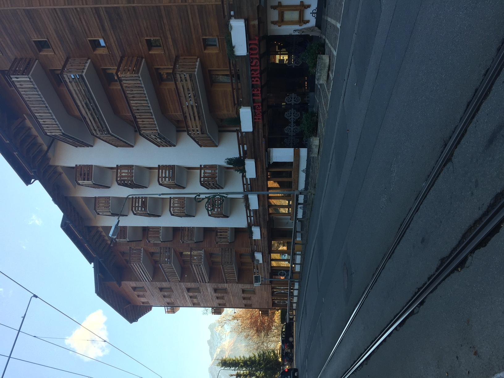 Hotel  bristol villars exterieur 2
