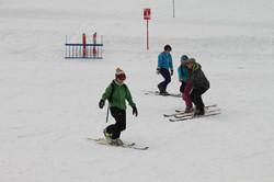 Télémark ski 1.centre.sos