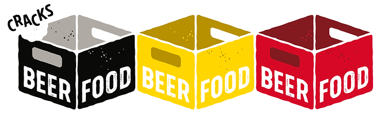 Beerfood logo - black-yellow-red