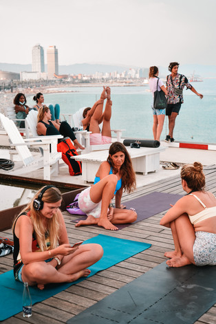 Barcelona public sessions @ Desigual rooftop