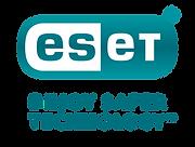 04 ESET logo - Stacked - GRADIENT + TURQ