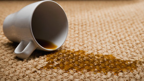 Removing Coffee Stains from your Carpets.