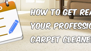 Preparing for your Carpet Cleaning Appointment