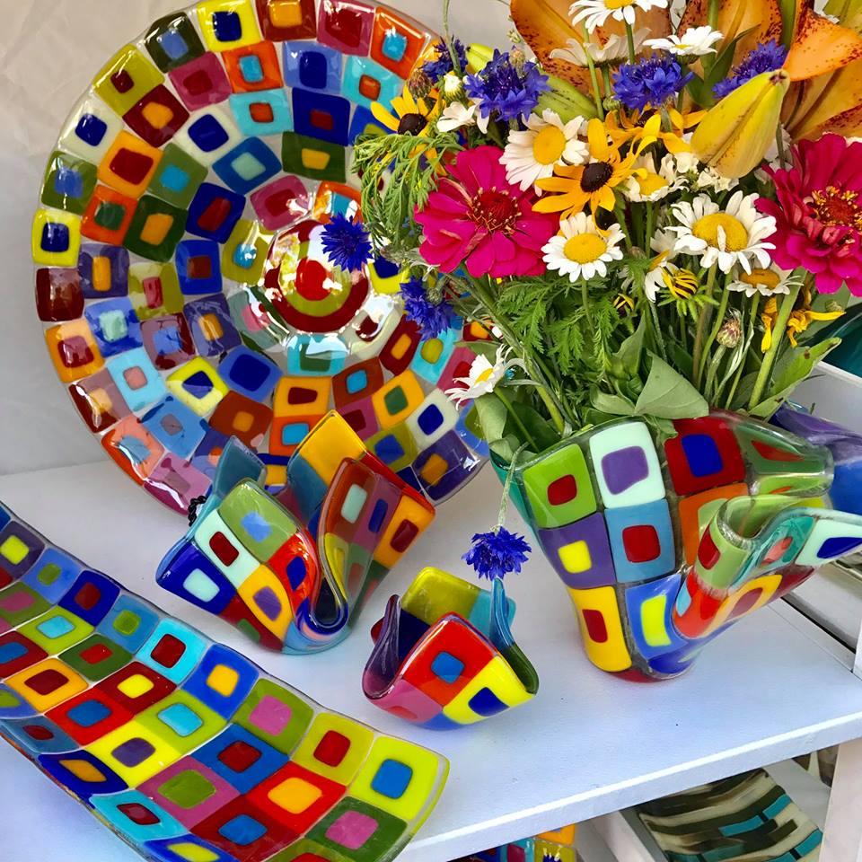 Suellen Parker, Glass