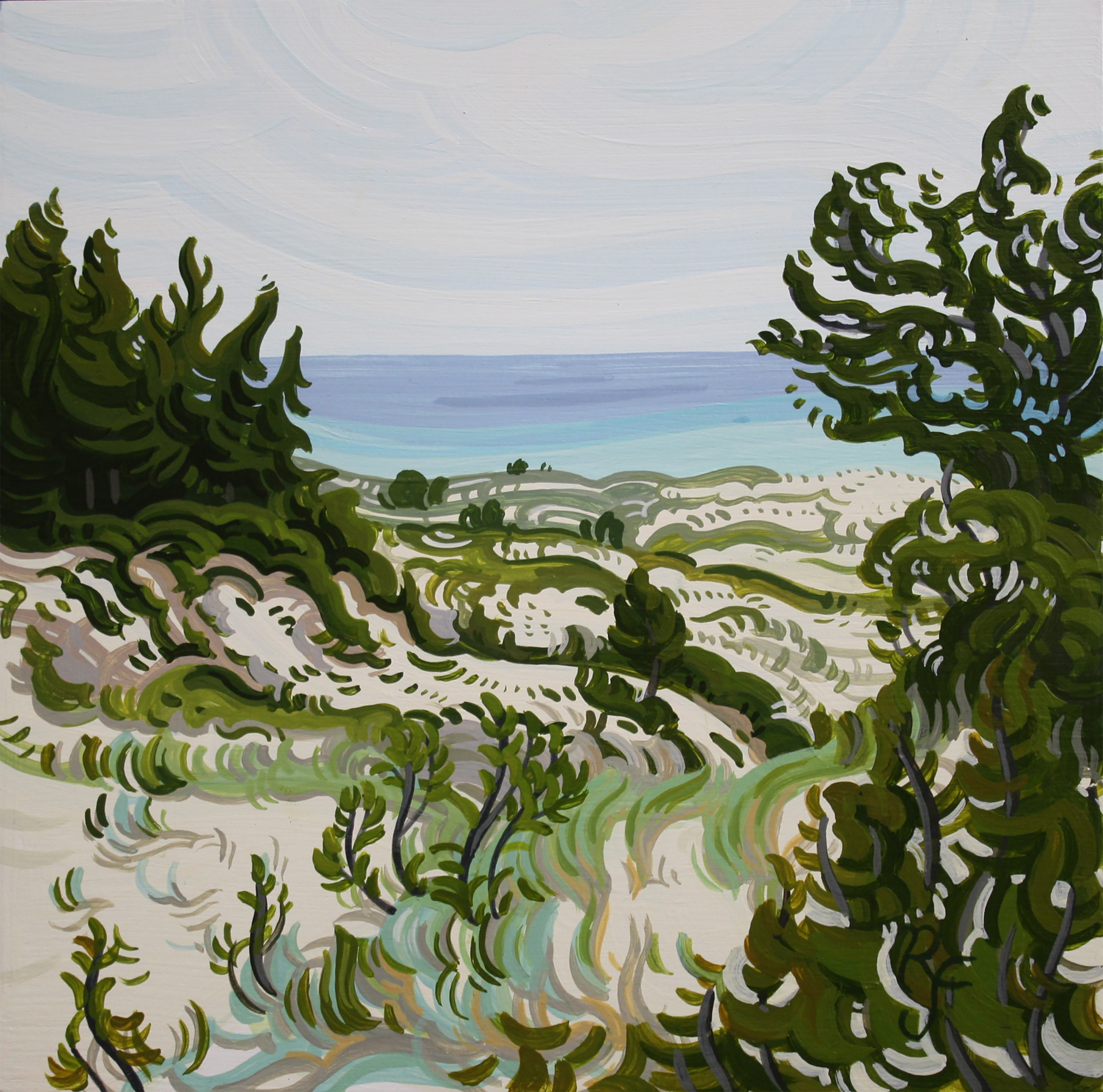 Randi Ford, Painting