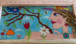 Pat Eberline, Painting & Mixed Media