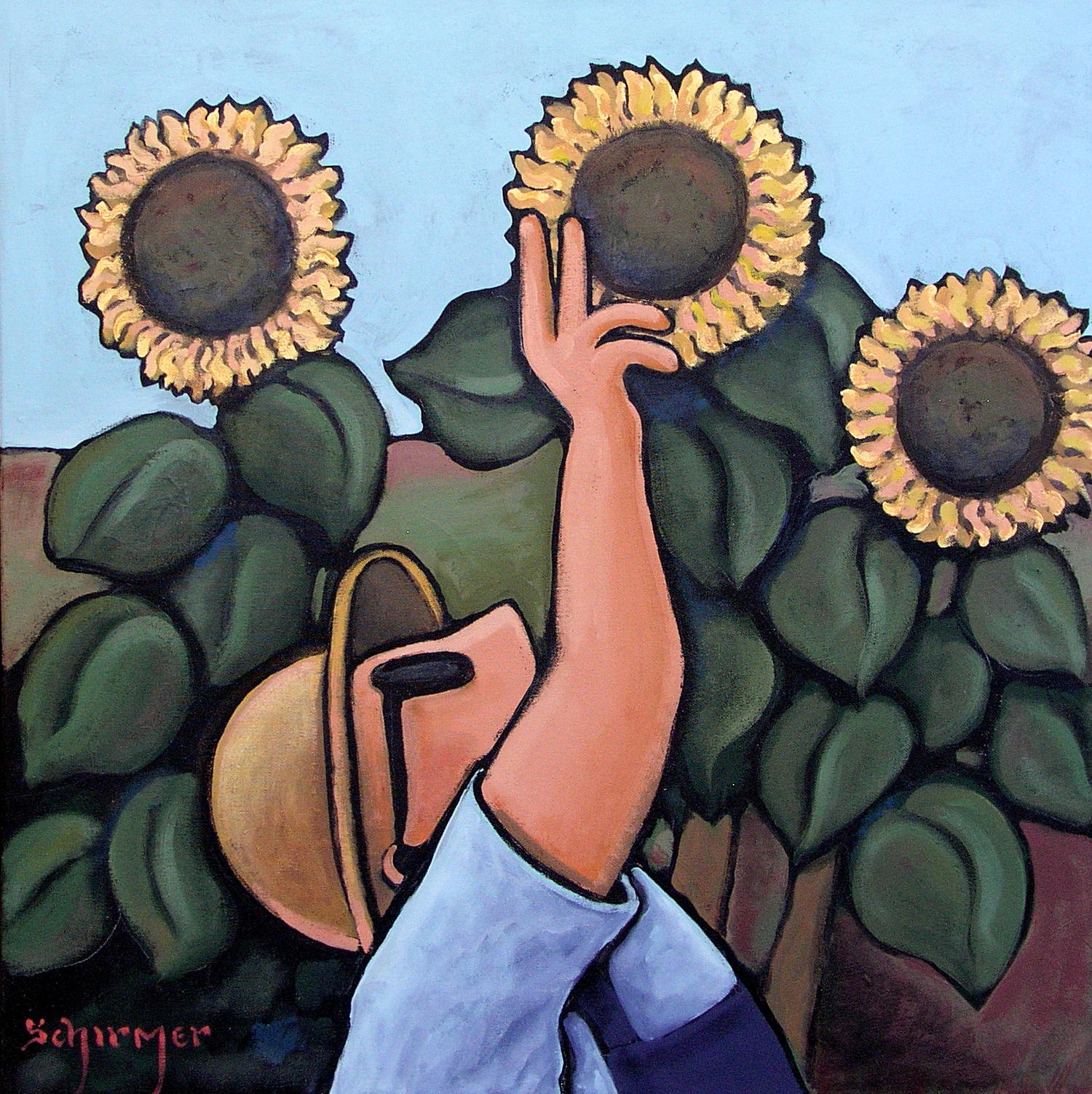 John Schirmer, Painting