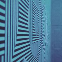 EISODOS project #artinstallation  #digbeth #centrala #art #screenprinting #electronicmusic #visuals