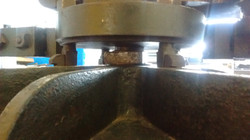 inside the printing studio