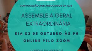 Convocação aos associados - Assembleia Geral Extraordinária