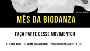 Programação mês da Biodanza