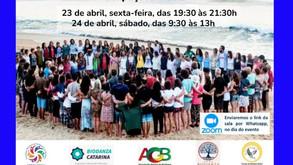 23 e 24 de Abril - Seminário sobre Biodanza/ça na Ocupação Brasileira de Ocupações -  CBO