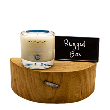 Rugged 100% Soy Wax Candle