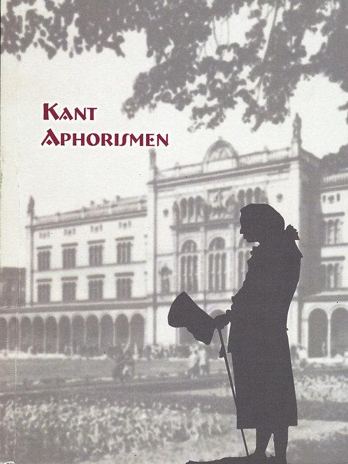 Афоризмы И. Канта. На немецком языке.