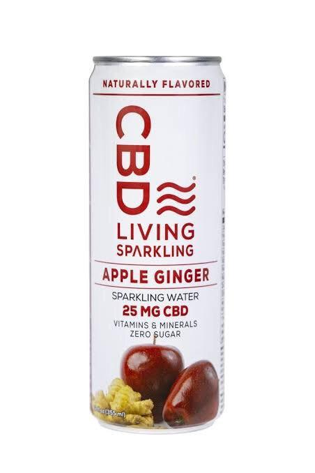 CBD Living Sparkling Water - 25mg