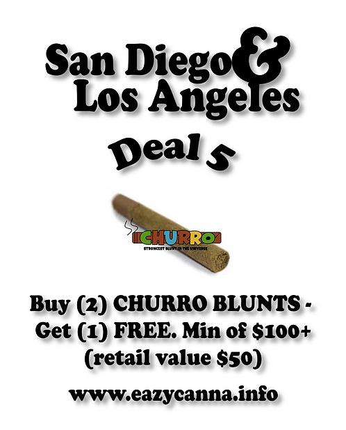 The Churro Blunt Deal: Buy (2) Churro Blunts, Get (1) free