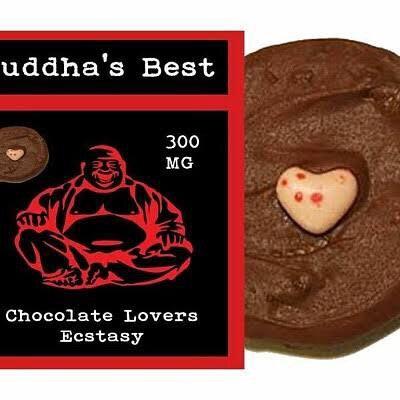 Buddhas Best Cookies - 300mg