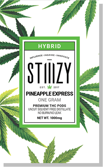 STIIIZY - Pineapple Express Premium THC Pod - Hybrid