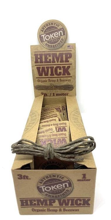 Token - Hemp Wick (3 ft.)