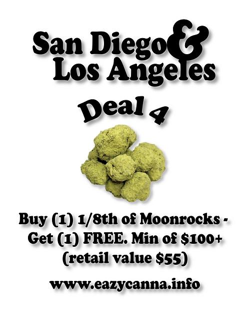 Moonrock Deal: Buy (1) 1/8th, Get (1) free