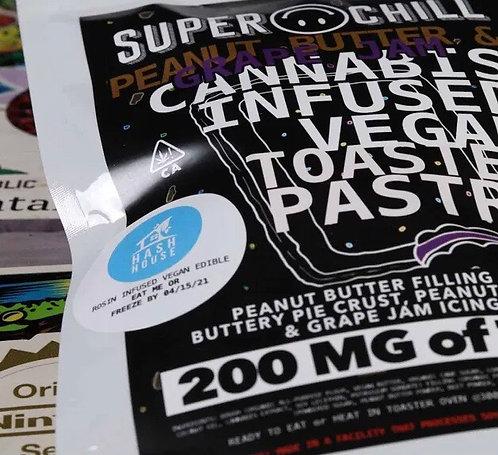 Super Chill Vegan Pop Tarts - 200mg