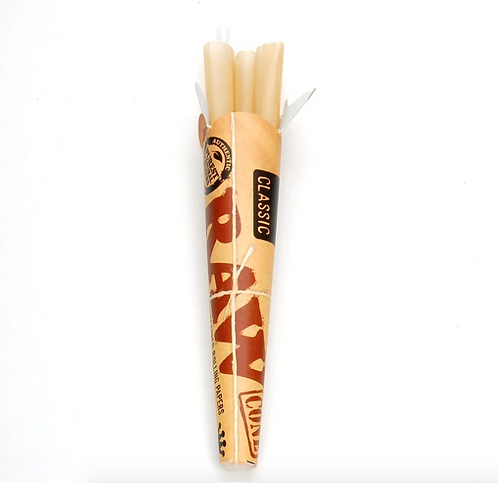 RAW Classic King Size Prerolled Cones