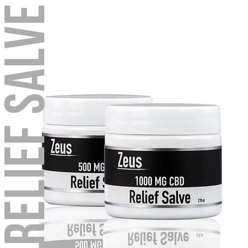 Zeus CBD Relief Salve - 500mg