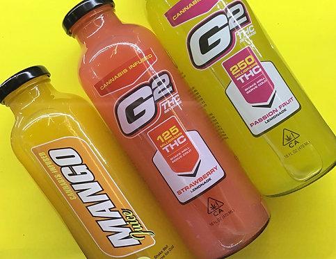 G2 THC Infused Lemonade Juice - 250mg