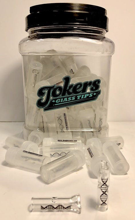 Tokers Reusable Glass Tip Filters