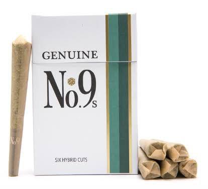 No. 9 Prerolls - 3.5g (6 Pack)