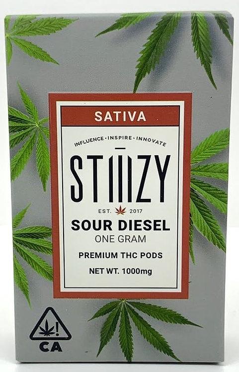 STIIIZY - Sour Diesel Premium THC Pod - Sativa