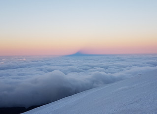 Mt Hood, Mt Adams & Rainier in 3 days