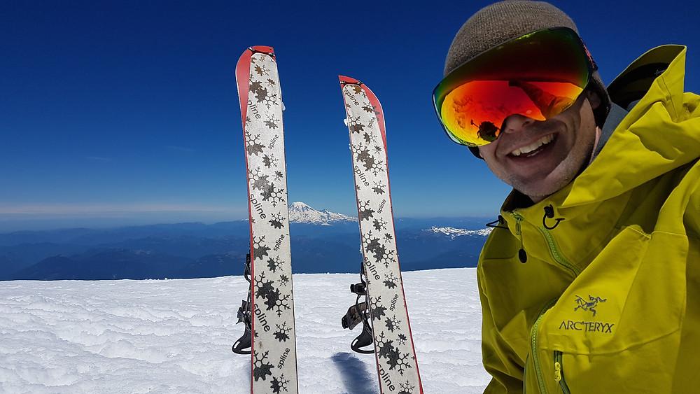 Summit of Mt Adams