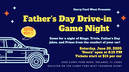 Father's Day Drive-In Game Night