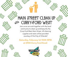 Main Street Clean Up