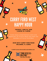 Curry Ford West Happy Hour