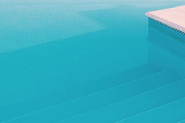 Inground pool stairs