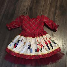 Custom Nutcracker dress designed for Foxcubwear.com