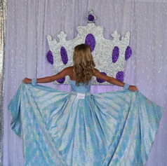 Custom fun fashion looked like a beautiful butterfly!