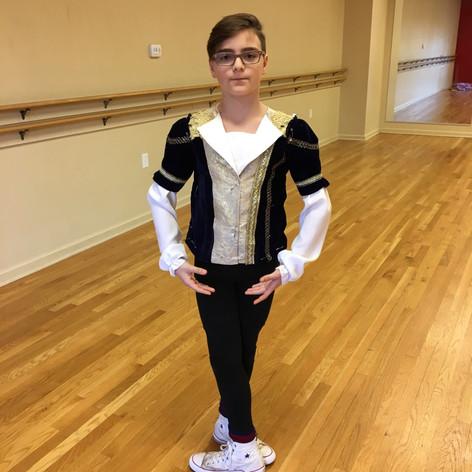 Custom  boys ballet costume