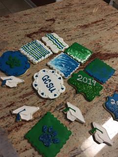 College graduation cookies
